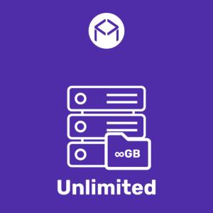 Unlimited osztott tárhelycsomag
