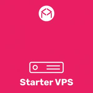 Starter VPS dedikált virtuális szerver
